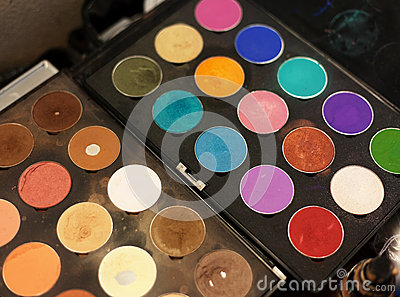 Make up colors