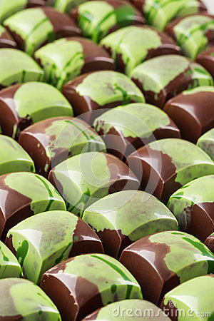 Free Lot Of Chocolate Bonbons Stock Image - 84596781