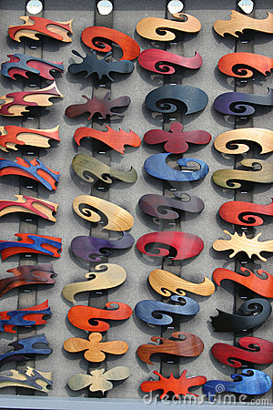 Free Lot Of Hairclips Stock Image - 10581