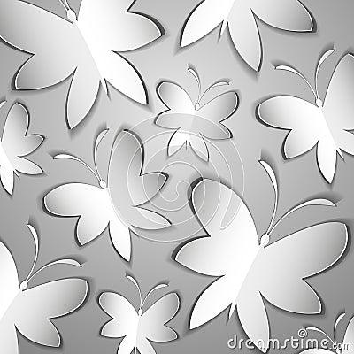 It is a lot of paper butterflies