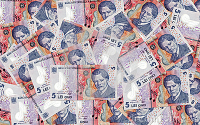 A lot of romanian money