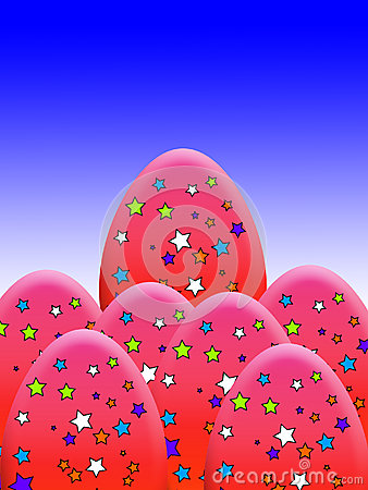 A estrela cobriu ovos