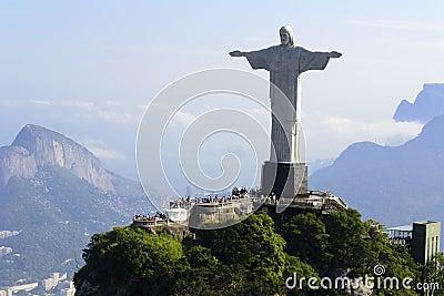 Lotniczy Brazil Cristo De Janeiro redentor Rio widok