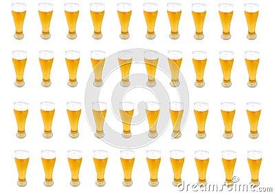 Lots of Beer pints
