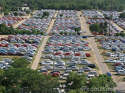 Lots Of Cars On Lot