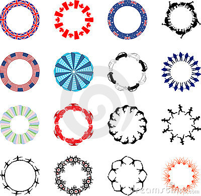 Lots of circular designs