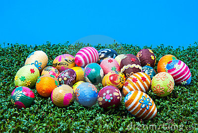 Lots of easter eggs on cress