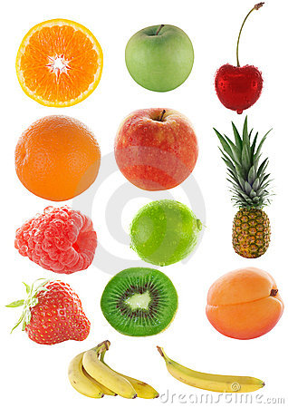 Free Lots Of Colorful Fruit Royalty Free Stock Image - 1595956