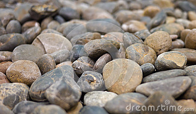 Lots of pebble stone