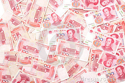 Lots of Renminbi