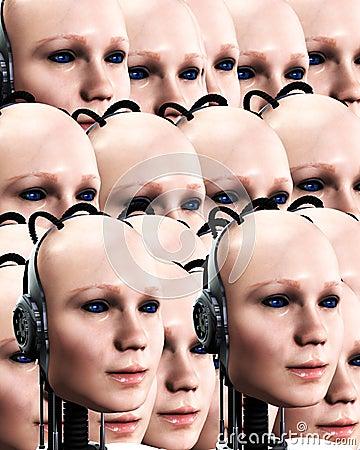 Lots Of Robo Women 3