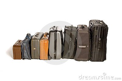 Lots of Travelling Suitcases