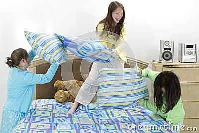 Lotta di cuscino