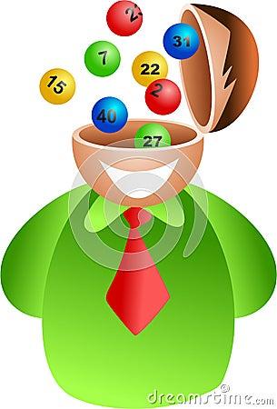 Lottery brain