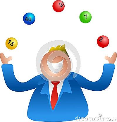 Lottery juggle