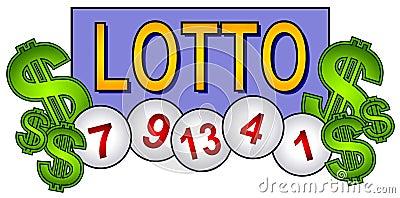 Lotto Balls Lottery Clip Art