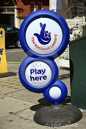 lotto stand