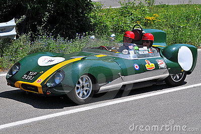 Lotus 1961 -Vernasca Silver Flag 2011 Editorial Photo