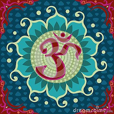 Free Lotus Aum Royalty Free Stock Photography - 818527
