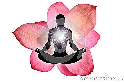Lotus-Blumenyoga