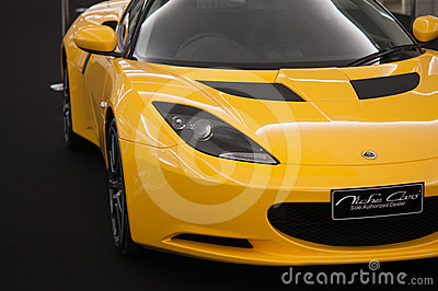 Lotus Elise super car Editorial Image
