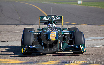 Lotus f1 car Editorial Image