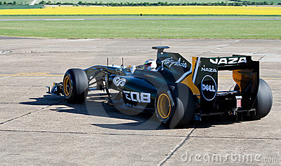 Lotus f1 car Editorial Photography