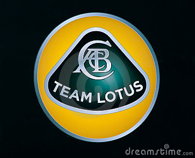Lotus f1 logo Editorial Photography
