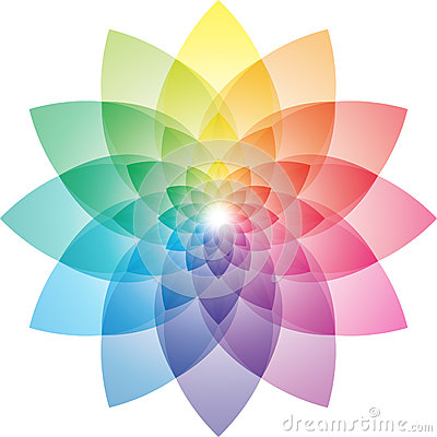 Free Lotus Flower Color Wheel Royalty Free Stock Photos - 53314178