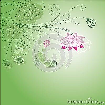 Printable Lotus Flower Pattern - FreePrintable.com
