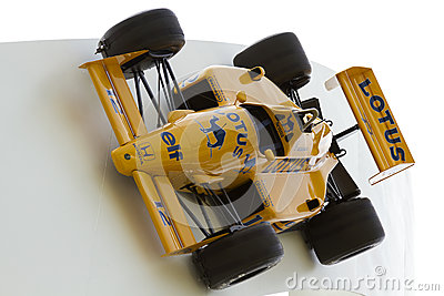Lotus Formula 1 racing car Editorial Stock Image