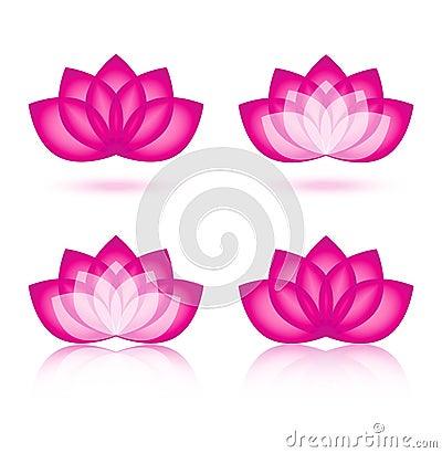 Lotus icon and logo design