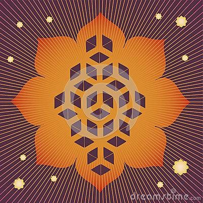 Lotus seed magic poster
