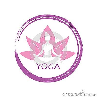 Free Lotus Yoga Zen Vector Logo Template Design Royalty Free Stock Photos - 101839088
