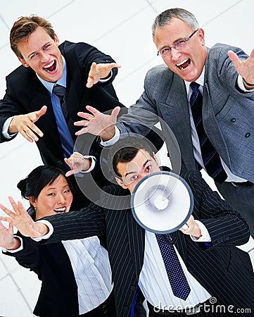 Loud business group.