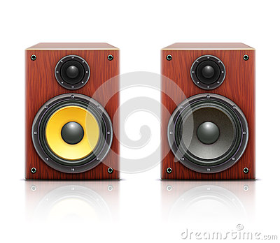 Loud hi-fi audio system