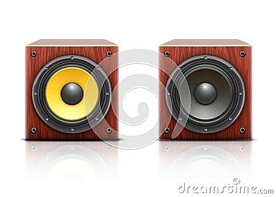 Loud speaker icons