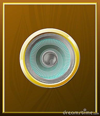 Free Loudspeaker. Stock Images - 20370844