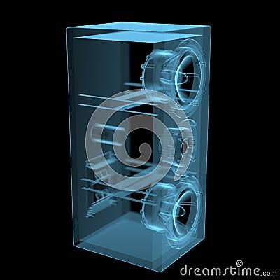 Free Loudspeaker Royalty Free Stock Photo - 40206045