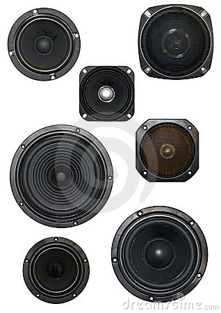 Free Loudspeaker Isolated Stock Photography - 216562