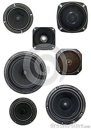 Loudspeaker isolated