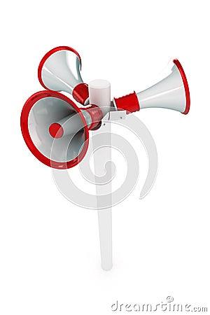 Loudspeaker Post