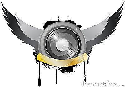 Loudspeaker wing