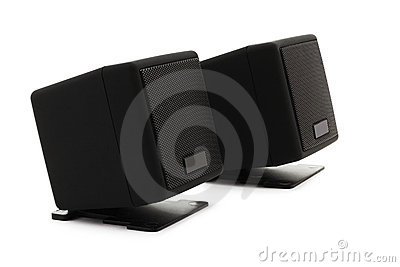 Loudspeakers (clipping path)