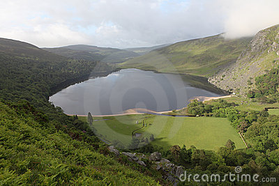 Lough tay, Wicklow ireland