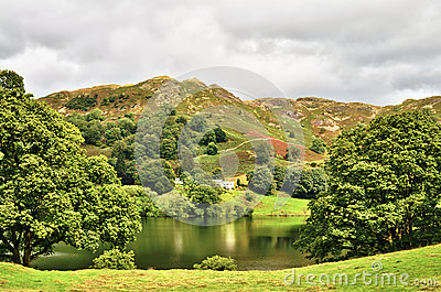 Loughrigg tarn, English Lake District