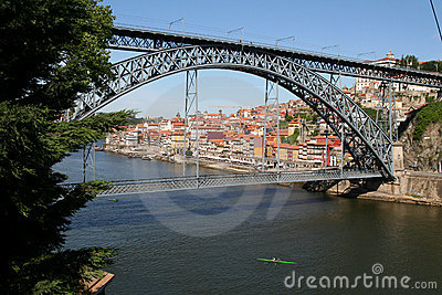 Louis 1 Bridge, Porto.