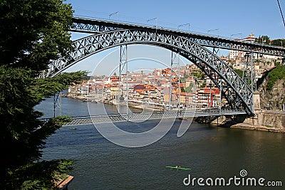Louis 1 Bridge, Porto.