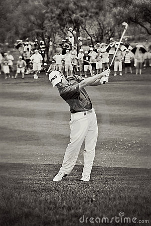 Louis Oosthuizen - Fairway Shot Editorial Stock Image