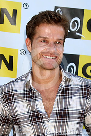 Louis Van Amstel arriving at the  Editorial Stock Image